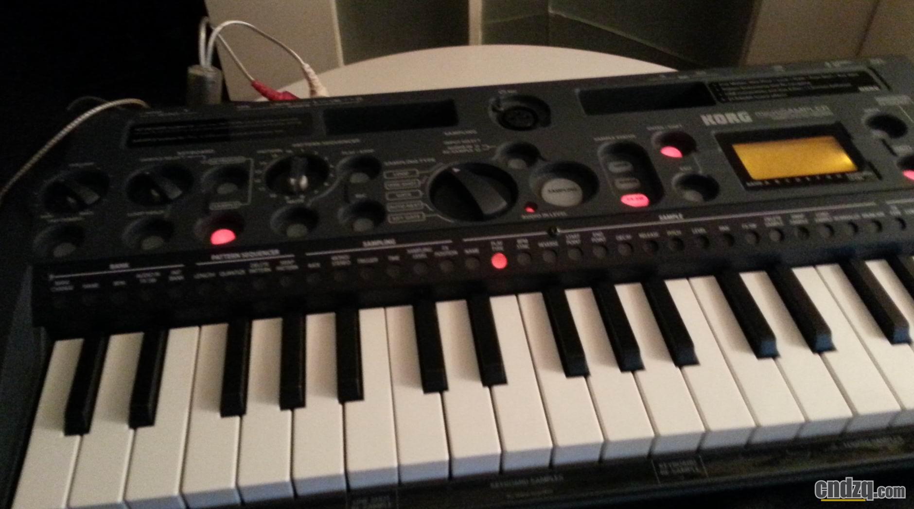 电子琴键盘图解