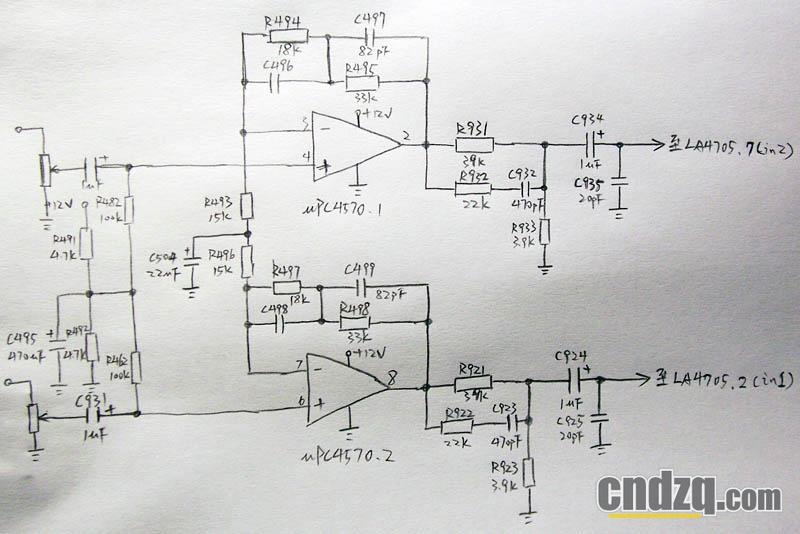 [改机贴]为雅马哈psr-330加装线路输入和线路输出