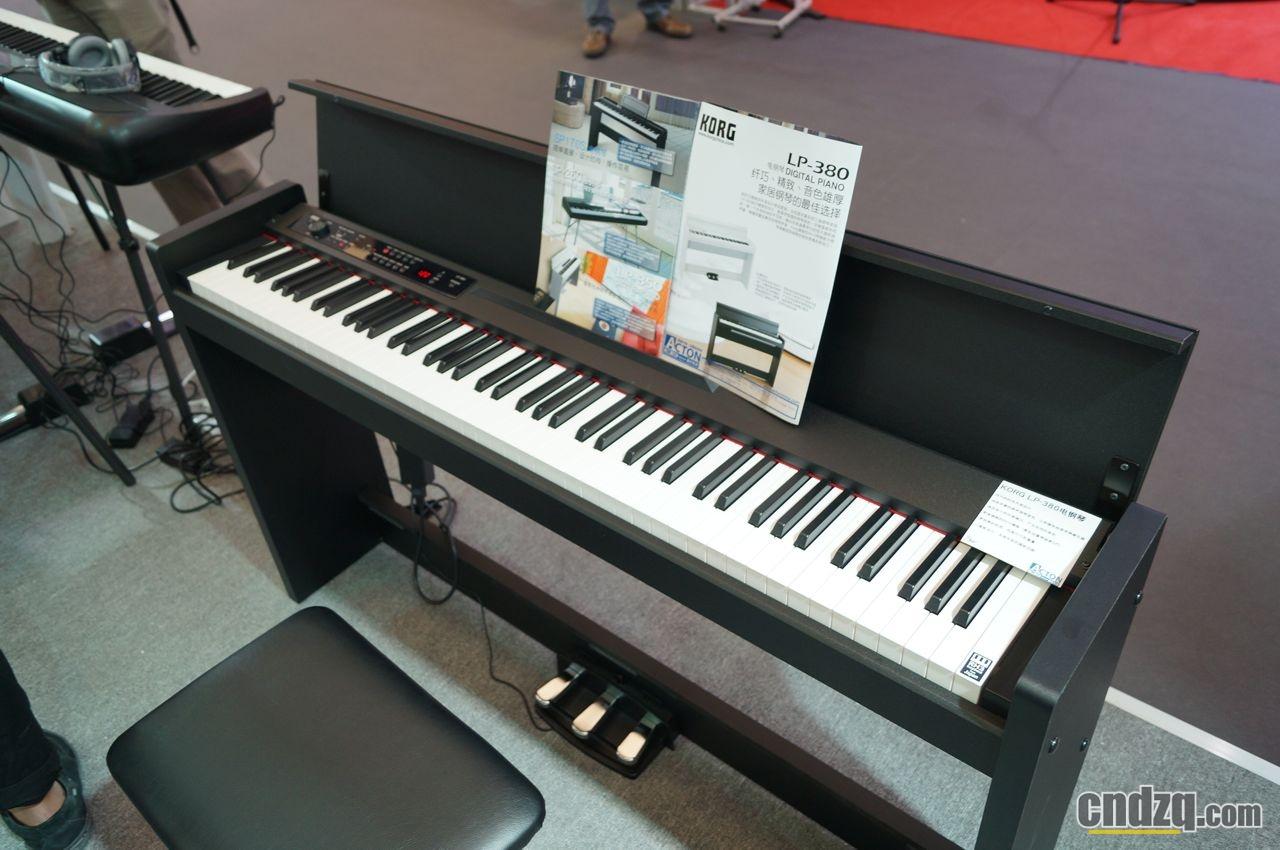 [新闻] 2013 中国(上海)国际乐展 - korg 电钢琴报道 - lp380即将登图片
