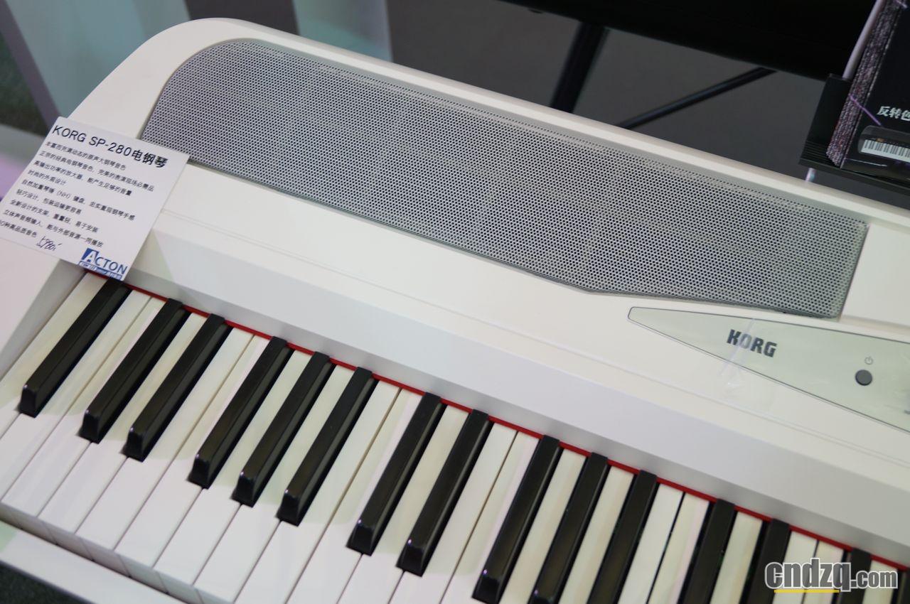 [新闻] 2013 中国(上海)国际乐展 - korg 电钢琴报道 - lp380即将登陆图片