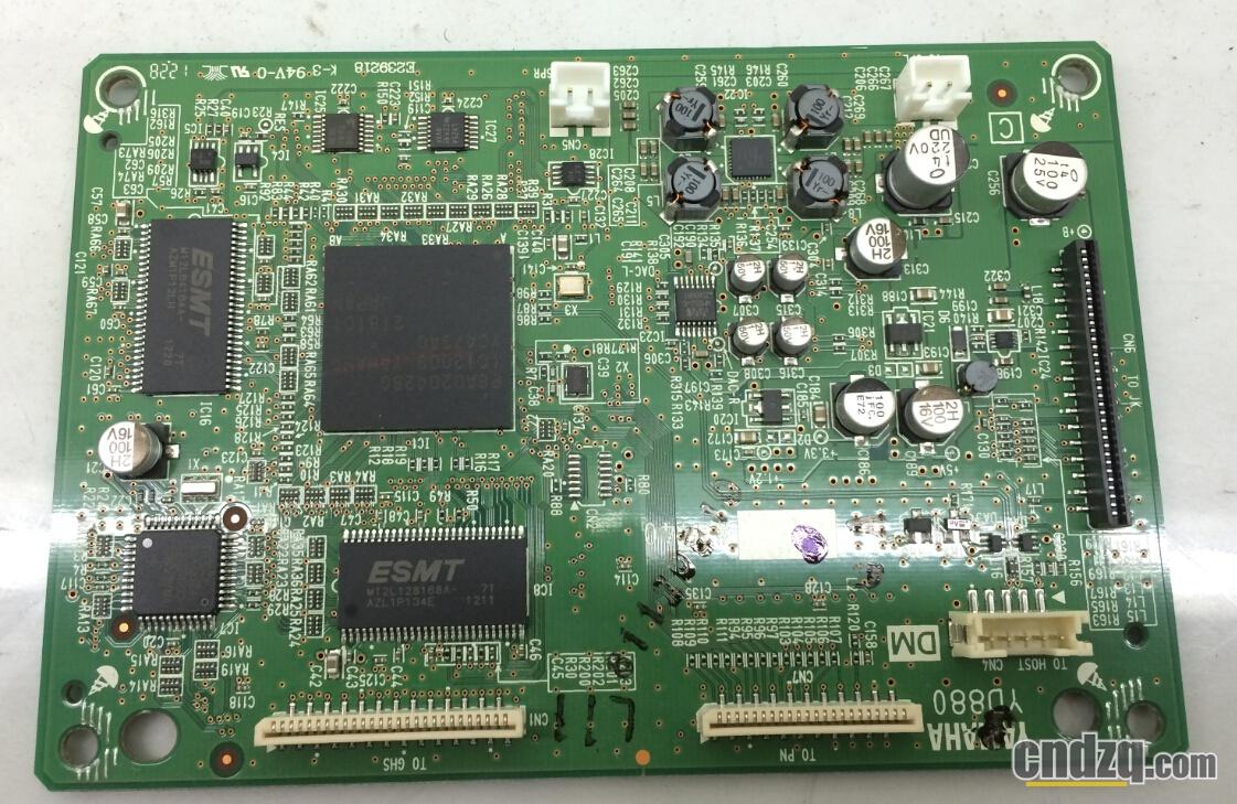 数字功放电路也集成在主板