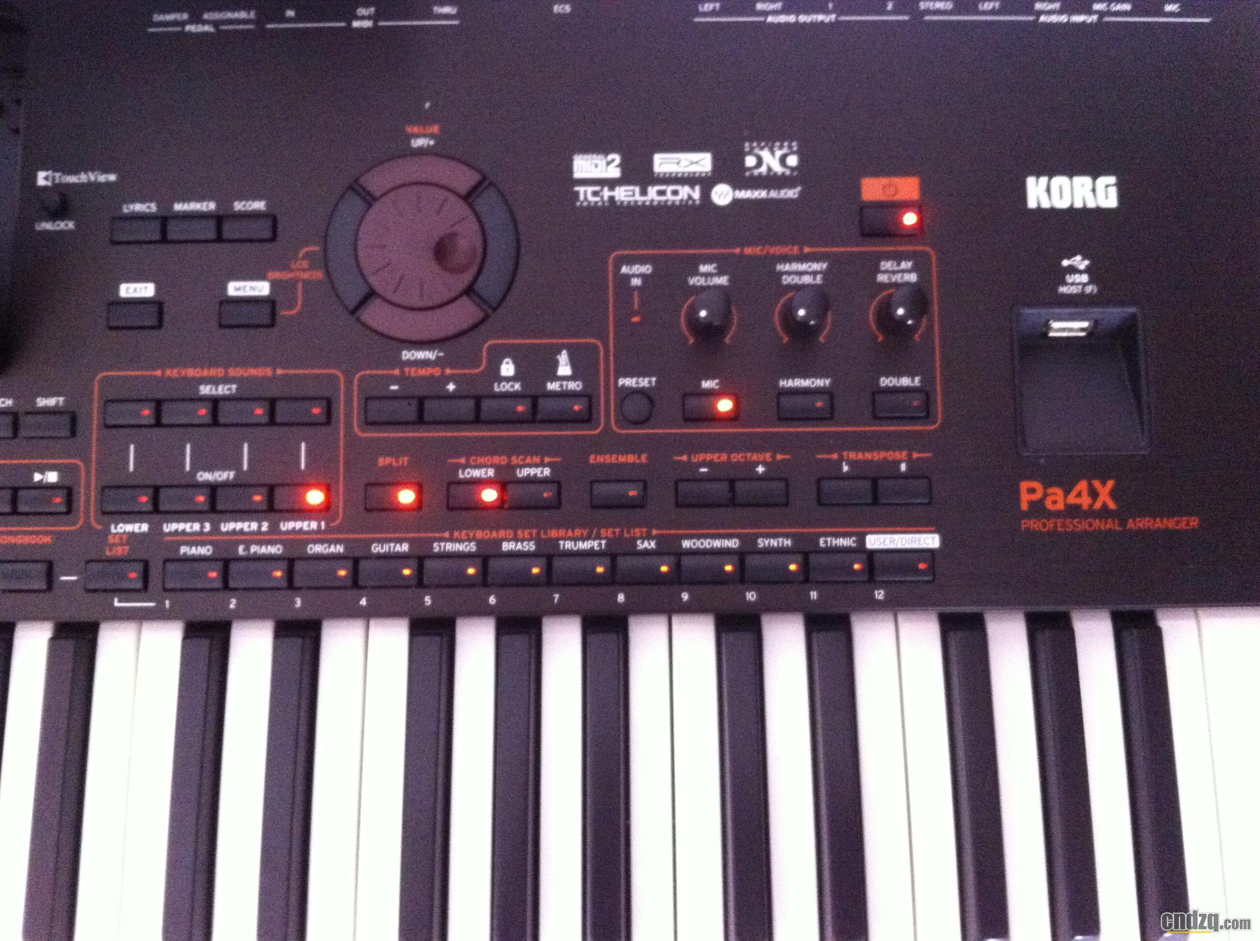 korg pa4x 到家 - 中国电子琴在线论坛 - powered by