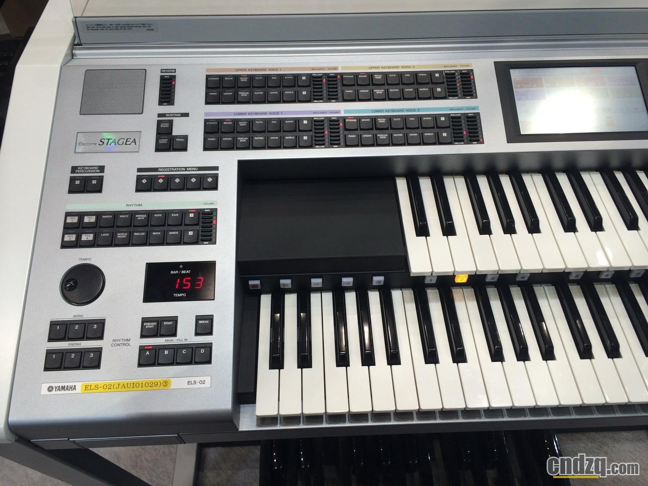 【2016年11月7日东京乐展独家报道】 双排键/电子管风琴产品报道:elc图片