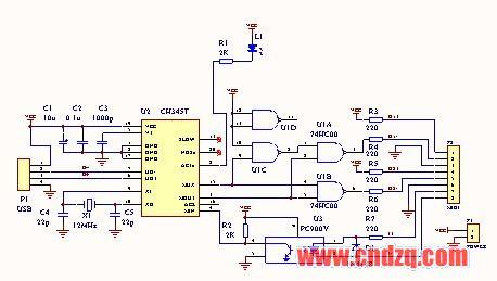 实战usb转midi线材制作-设备维修与研发-中国电子琴
