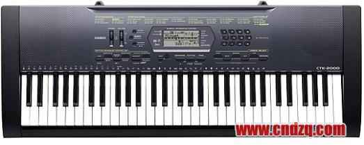 [新闻] [新闻]casio发布4款ahl音源普及型电子琴:wk-200, ctk-4000图片