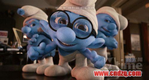 可爱的蓝精灵,他们齐心合力开动脑筋,斗败了格格巫,他们唱歌跳舞快乐