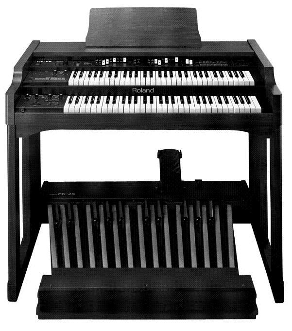 但其不同之处在于电子管风琴具有脚键盘